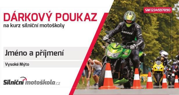 Dárkový poukaz Silničnímotoškola.cz